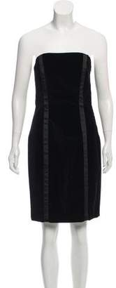 Diane von Furstenberg Velvet Bodycon Dress