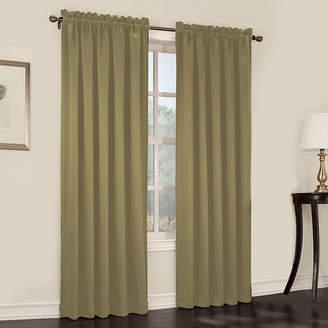 Sun Zero Sun ZeroTM Emory 2-Pack Room-Darkening Rod-Pocket Curtain Panels