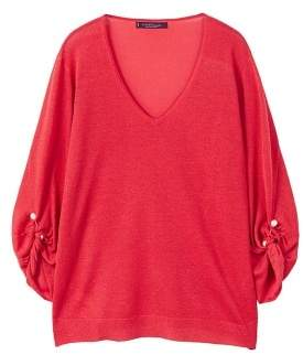 Violeta BY MANGO Piercing detail sweater