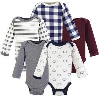 Baby Vision Hudson Baby Unisex Preemie Bodysuit, 5 Pack, Premie