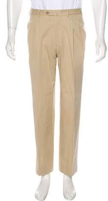 Loro Piana Pleated Flat Front Pants