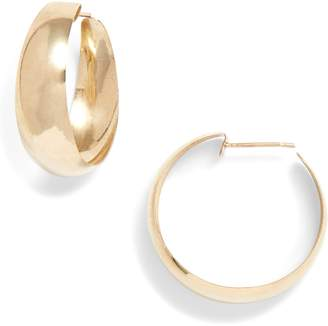 Loren STEWART Dome Hoop Earrings