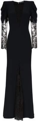 Alexander McQueen sarabande lace insert maxi dress