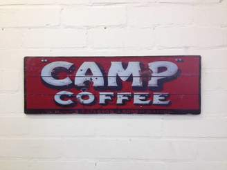 Daughters Of The Revolution Vintage Style Camp Coffee Sign