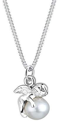 Perlu Women 925/1000 silver sterling silver Drop Pearl FINENECKLACEBRACELETANKLET