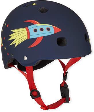 Micro Kickboard Boys' Rocket-Print Helmet, XS