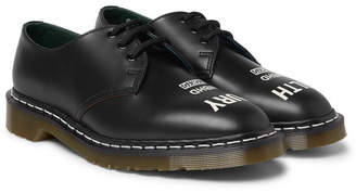 Neighborhood + Dr Martens 1461 Printed Leather Derby Shoes