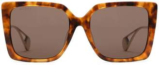 Gucci Specialized fit square-frame sunglasses