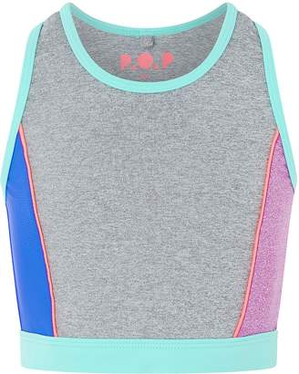 Next Girls Monsoon Casey Colourblock Top