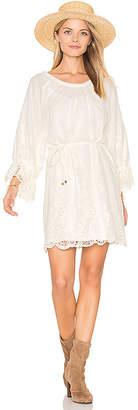 Ella Moss Jaedynn Dress in Ivory $248 thestylecure.com