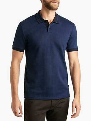 80e7c6f5312c at John Lewis and Partners · HUGO BOSS BOSS Phillipson Slim Fit Polo Shirt,  Dark Blue