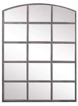 Gracie Oaks Modern Arched Window Paneled Wall Decor