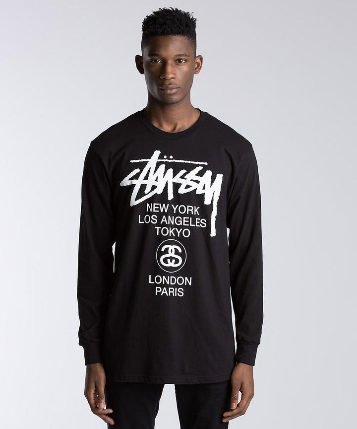 Stussy World Tour Long Sleeve T-Shirt