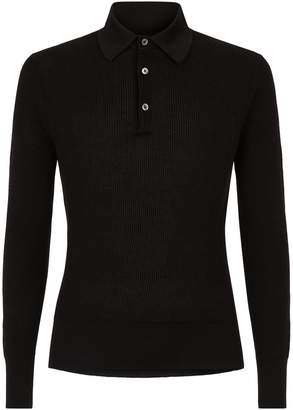 Tom Ford Knitted Polo Top