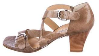 Paul Green Leather Multistrap Sandals