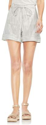 Vince Camuto Tie Front Striped Shorts