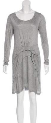 Thakoon Long Sleeve Mini Dress