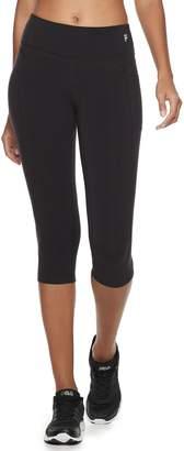 Fila Sport Women's SPORT Black Capri Leggings