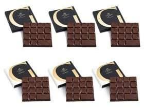 Godiva Chocolatier G by Dark Chocolate Lover's Chocolate Bar Tasting Set