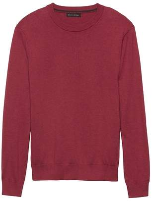 Banana Republic Premium Cotton Cashmere Crew-Neck Sweater
