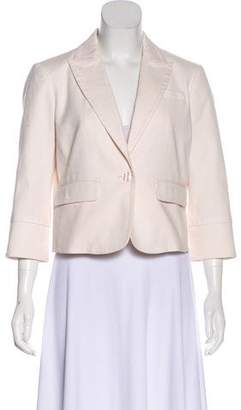 Tory Burch Peak-Lapel Structured Blazer