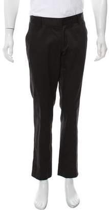 Gucci Twill Straight-Leg Pants