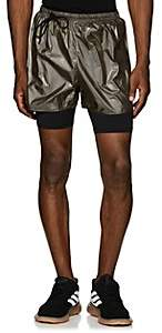 Siki Im Men's Compression Running Shorts-Gold