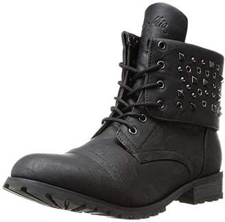 Gia Mia Women's Convertible Combat Boot Fashion