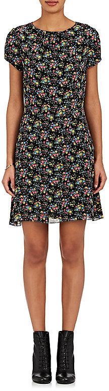Saint LaurentSaint Laurent Women's Floral-Print Crêpe Dress