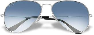 Ray-Ban Aviator - Silvertone Metal Sunglasses