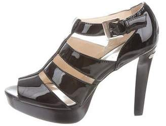 MICHAEL Michael Kors Patent Leather Platform Sandals