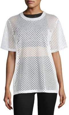 Opening Ceremony Mesh Short Sleeve Tee