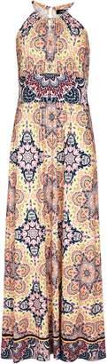 WallisWallis Pale Pink Paisley Print Maxi Dress