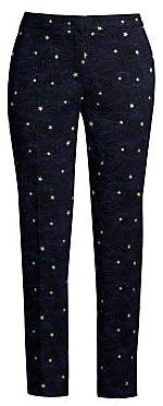Escada Women's Talass Starry Night Ankle Pants
