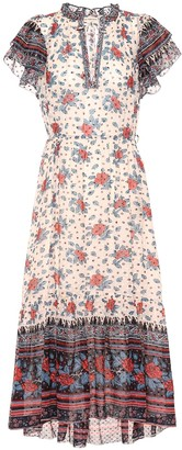Ulla Johnson Reese floral silk georgette dress