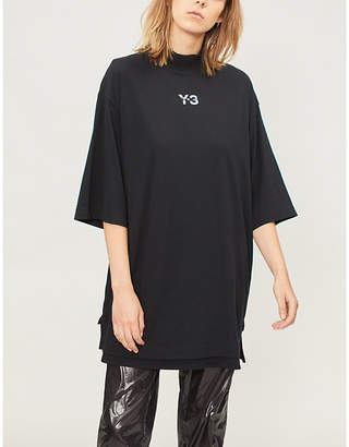 Y-3 Y3 Signature cotton-jersey T-shirt