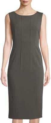 Lafayette 148 New York Debra Pintucked Sheath Dress