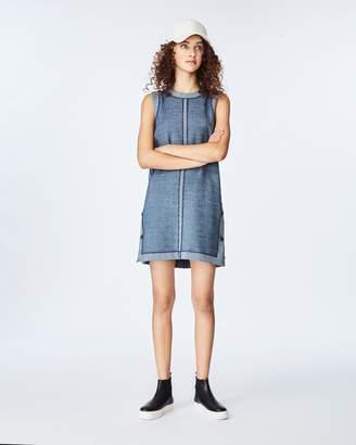 Nicole Miller Pinstripe Shift Dress