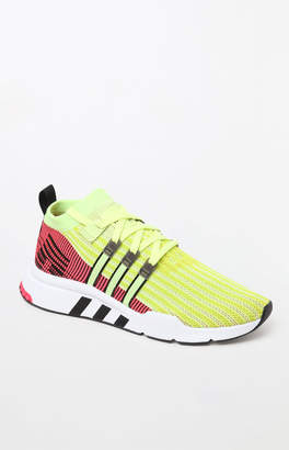 adidas EQT Support Mid ADV Primeknit Yellow Shoes