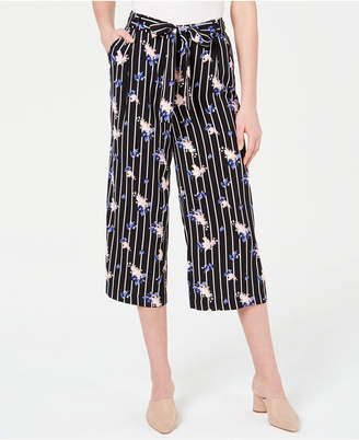 5e80a10eea8 Maison Jules Mixed-Print Tie-Waist Pants