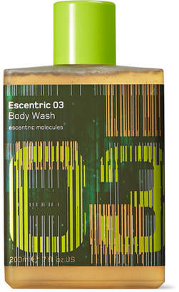 Escentric Molecules Escentric 03 Body Wash, 200ml