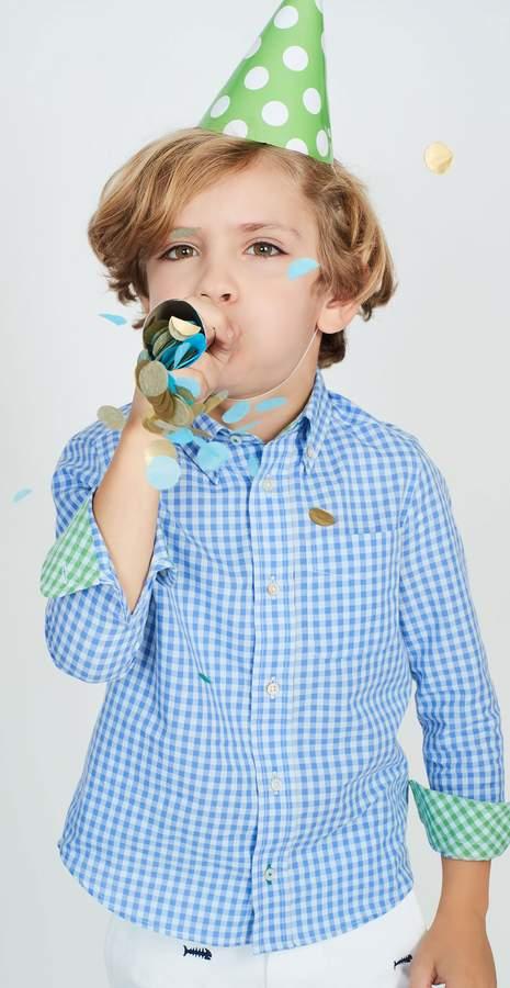 Boys' Carnegie Regular Fit Shirt in Check