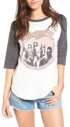 Women's Junk Food Aerosmith Raglan Tee $53 thestylecure.com