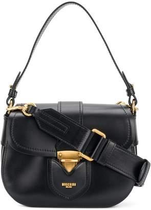 Moschino fold over satchel