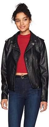 Roxy Women's Midnight Ride Faux Leather Jacket
