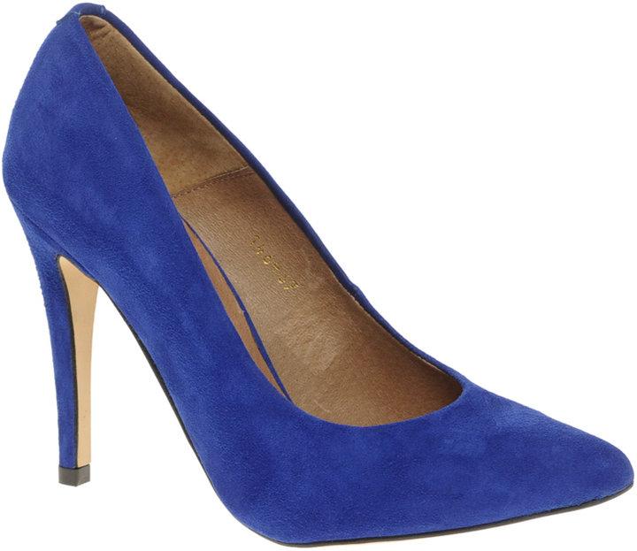 ASOS SALOU Suede Stiletto Point Court Shoe