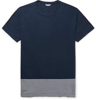 Orlebar Brown Sammy Striped Cotton-Jersey T-Shirt
