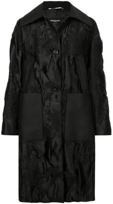 Rochas brocade design coat
