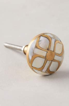 Anthropologie Serpentine Mother of Pearl Knob