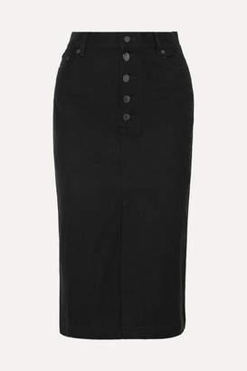 Joseph Denna Stretch-denim Pencil Skirt - Black